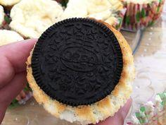Post: Oreo cream cheesecake cupcakes --> cheese cake, cupcakes, magdalenas de queso, Oreo cream cheesecake cupcakes, postres individuales, postres oreo, postres recetas delikatissen, tartas de queso