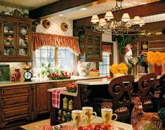 red check country kitchens | New Estates / fulton3.jpg