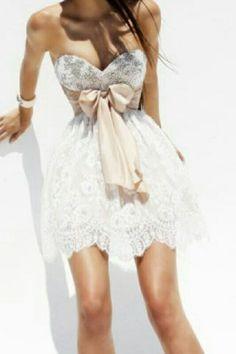 Vestido de Novia Corto - Boda Civil