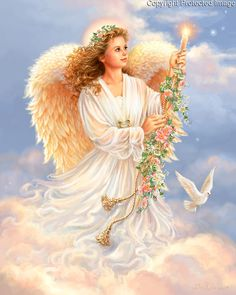 Angel Images, Angel Pictures, Happy Birthday Fairy, Angel Hierarchy, Good Morning Sunday Images, Angel Artwork, Ghost Of Christmas Past, Angels Beauty, Principles Of Art