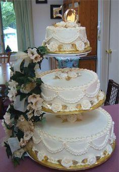 50th Anniversary Cake Decorating Ideas