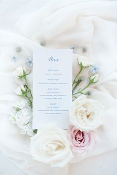 The stationery and menus from this gorgeous wedding were created from our very own SMP shop! See more at @stylemepretty !! Photographer: @gabypineda_photo #stylemepretty #weddingmenu #weddingpaper #weddingstationery #weddingcalligraphy