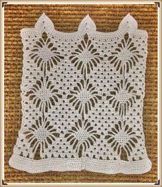Crochet Stitch M2 : Doily Pattern 111213 - Lots of Crochet Stitches - I want to take this ...