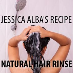 The Honest Company's Jessica Alba shared some of her natural beauty advice with Dr Oz, including a Fast Mask Recipe and Apple Cider Vinegar Hair Rinse.