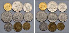 NumisBids: Nomisma Spa Auction 50, Lot 314 : Pio XII (1939-1958) Divisionale 1945 A. VII – 100, 10, 5, 2 e una...