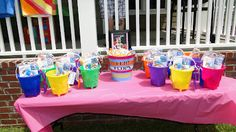 1st Birthday Pool Party Favors!