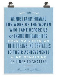 women before us