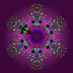 impalpable, mais réel ? palpável, mas real ! impalpable, but real !! Mandala de Pierre Vermersch Digital Drawings