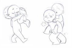 Chibi Couple Reference Poses