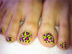 These are the weirdest looking toes I've ever seen & I'm not talking about the nail polish!