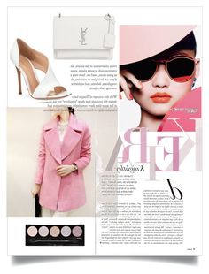 """""""Untitled #49"""" by themoodforfashion on Polyvore featuring Gianvito Rossi, Yves Saint Laurent and L.A. Colors"""