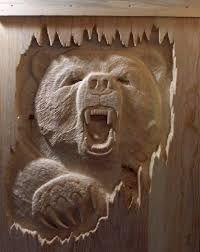 Картинки по запросу carved mantels with bears