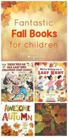 Check out these fantastic fall books for preschoolers that will definitely be a hit. They& perfect for the preschool classroom or reading at home. Autumn Activities For Kids, Fall Preschool, Preschool Books, Preschool Classroom, Reading Activities, Preschool Activities, Preschool Plans, Leo, Fall Books