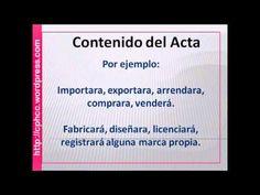 ACTA CONSTITUTIVA - YouTube