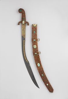 # Sword (Kilij) with century. The Metropolitan Museum of Art, New York. The Collection of Giovanni P. Morosini, presented by his daughter Giulia, 1932 b)