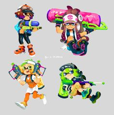 Pokemon x Splatoon
