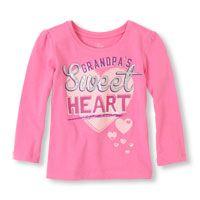 grandpa sweetheart graphic tee