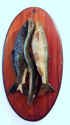 Peixes em terracota