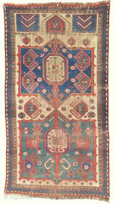 Very rare Caucasian Prayer Rug > c. 1850