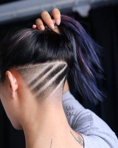 "694 Likes, 19 Comments - SAL SALCEDO (@salsalhair) on Instagram: ""SURPRISE! #undercut #salsalhair #hairart"""