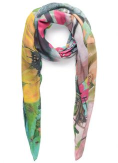 Dream Cashmere-Blend Scarf by Donna Carter