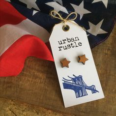 Items similar to Star wooden stud earrings - wooden earrings - geometric wooden jewelry - star jewelry - wooden studs - geometric earrings - star studs on Etsy Rustic Jewelry, Wooden Jewelry, Unique Jewelry, Leather Accessories, Leather Jewelry, Handmade Items, Handmade Gifts, Wooden Stars, Wooden Earrings