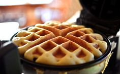 Cornbread Waffles- Oh my. @Kayleen Hudson we just found a new use for your waffle maker.  @Carly Mietzner