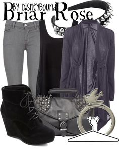 """""""Briar Rose"""" by lalakay ❤ liked on Polyvore"""