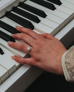 WHILE PLAYING YOUR FAVOURITE INSTRUMENT Wedding Couples, Wedding Photos, Beautiful Wedding Rings, Designer Engagement Rings, Wedding Attire, Wedding Trends, Hand Henna, Ring Designs, Bridal Jewelry