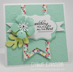 Wishing You The Best by TreasureOiler - Cards and Paper Crafts at Splitcoaststampers