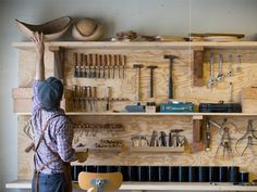 josh vogel - black creek mt - woodworking studio