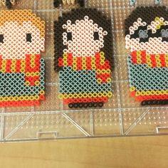 Harry Potter perler beads by gameraudette