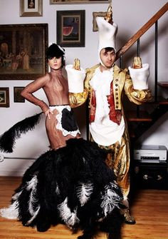 Feather duster and Lumiere