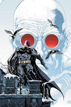 Batman Annual #1 introduces Mr Freeze into DC Comics: The New 52