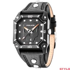 Police Wildcard Black Skull Watch 13888JSB 02 See more POLICE Watches at -  http b8a501890c0