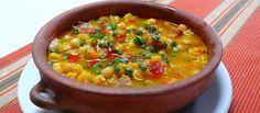 Locro Criollo Argentino. Los argentinos comemos este manjar casi siempre en fechas patrias, pero también se puede consumir en cualquier momento.Es exquisito