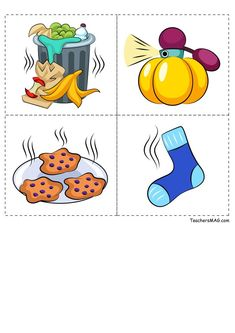 Five Senses Sorting Activity for Preschool, Pre-K, and Kindergarten Students Five Senses Preschool, 5 Senses Activities, Sorting Activities, Kids Learning Activities, Preschool Activity Books, Preschool Worksheets, Abc Coloring Pages, Autism Learning, Flashcards For Kids