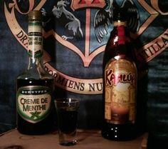 20 Alcoholic Drinks Inspired by Harry Potter. (Slytherin shot)