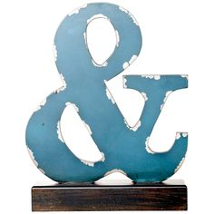 Ampersand Finial