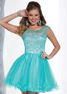 A-line Blue Organza Short Homecoming Dress/Prom Dress cocktail Dress Hs 27880 Grad Dresses, Junior Dresses, Homecoming Dresses, Prom Dress, Homecoming 2014, Dresses 2014, Party Dresses, Dresses Online, Sweet 16 Dresses