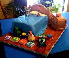 toy story theme cake idea