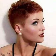 very short hairstyle photos that every lady must see cheveux courts 0 Kas 2018 Super Short Hair, Short Hair Cuts, Short Hair Styles, Pixie Hairstyles, Cool Hairstyles, Hairstyle Pics, Superkurzer Pixie, Pixie Cuts, Very Short Haircuts