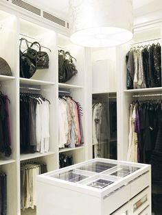 I wish... Check out  Practical Princess for products & ideas to organise you wardrobe