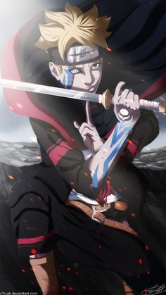 Boruto - Next Generation by heh, for a second, I thought that was Naruto, but he looks like him.anyway, boruto is hot😊😍😍❤️ Naruto Vs Sasuke, Anime Naruto, Sakura Anime, Manga Anime, Art Naruto, Naruto Shippuden Anime, Gaara, Shikamaru, Sad Anime