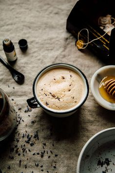 lemon and lavender tea latte | the first mess.