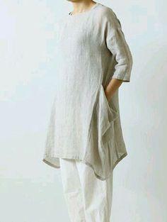 FLAX Designs  Linen Boxed Down Pants   1G  /&  2G    NWOT ENDLESS STRIPE