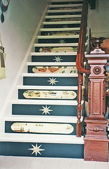 One Step Beyond Decorative Stair Risers Design Stairs