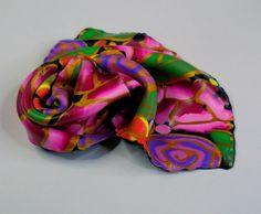 Silky polymer clay brooch | by klio1961
