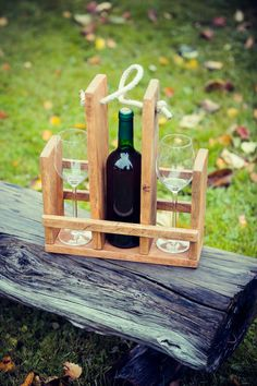wine&glass carrier