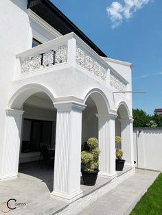 Proiect Casa Rezidentiala Galati – Profile Decorative Gazebo, Pergola, Design Case, Home Fashion, Home Goods, Garage Doors, Profile, Merlin, House Styles
